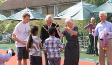 Medals and certificates were presented by the Worshipful Mayor and Mayoress of Kensington and Chelsea and Peter Chapman, Chair of the Octavia Foundation