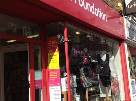 Our South Kensington charity shop
