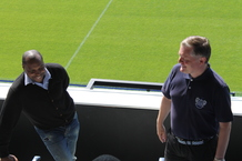 Ex-player Andrew and QPR in the Community Chief Exec Andy give a tour of the stadium