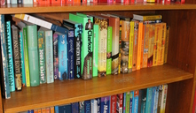 You can find lots of colourful bargain books on our shelves at our Finchley Road shop