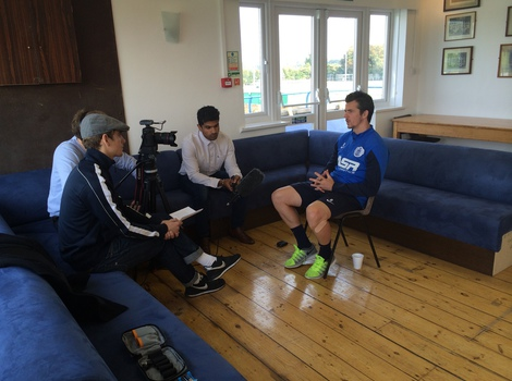 Story of QPR team filming Joey Barton