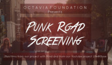 Punk Road Cropped Invite